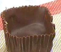 pirotines de chocolate