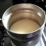 evaporacion del agua de la leche