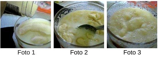 gelatina hidratada en leche