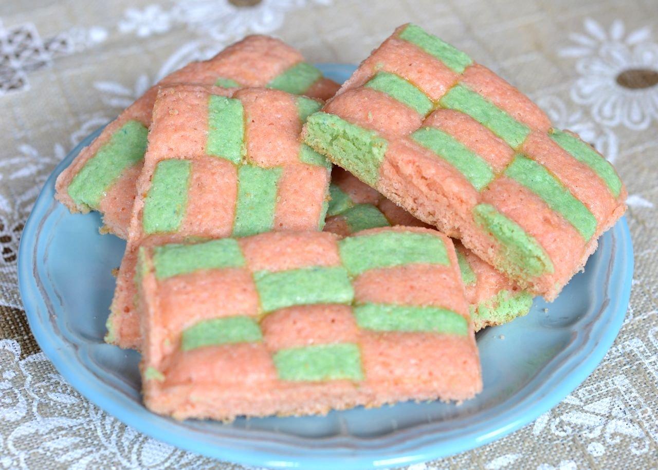 galletitas dameras colores pasteles