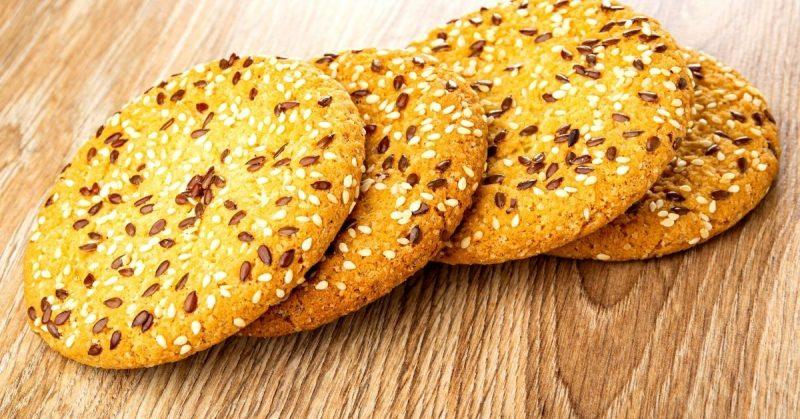 galletas semillas lino
