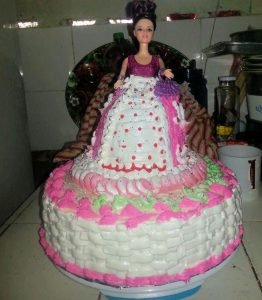 torta decorada con merengue italiano
