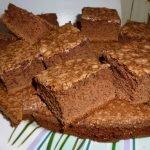 receta brownie chocolate