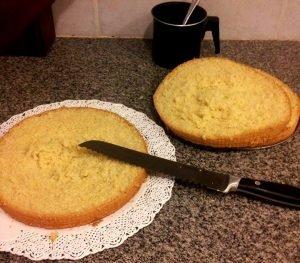 bizcochuelo esponjoso receta