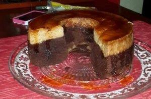como hacer pastel imposible