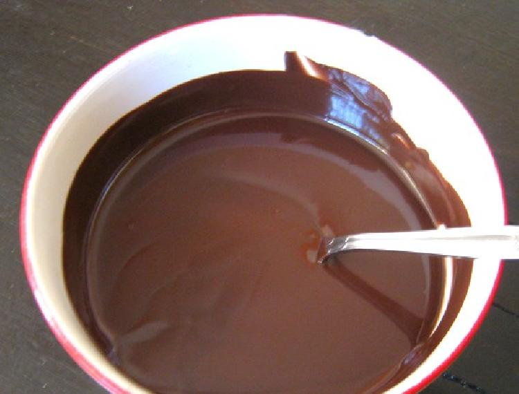 salsa charlotte de chocolate