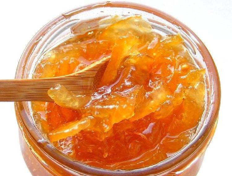 Mermelada de naranjas, pomelos y manzanas