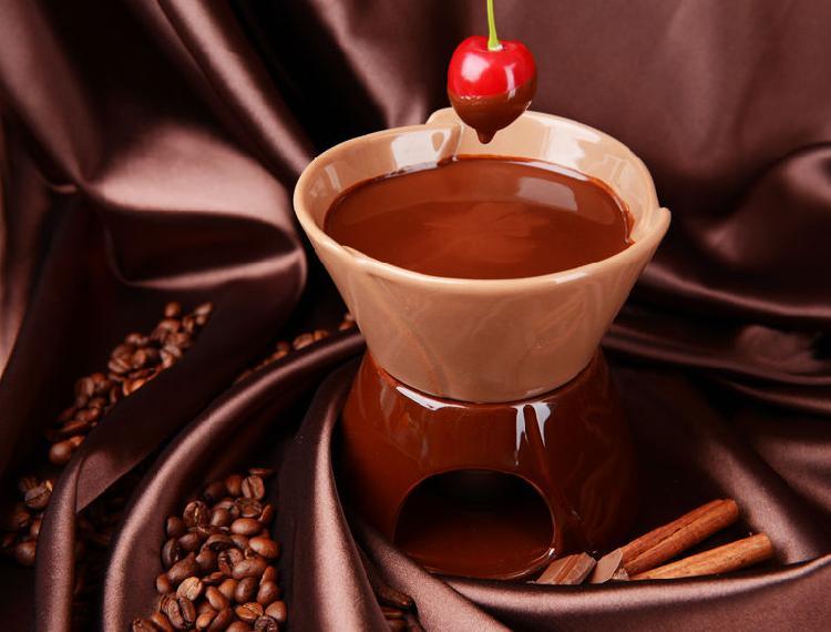 almibar de chocolate