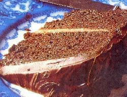 Relleno para torta selva negra con chocolate blanco y cerezas