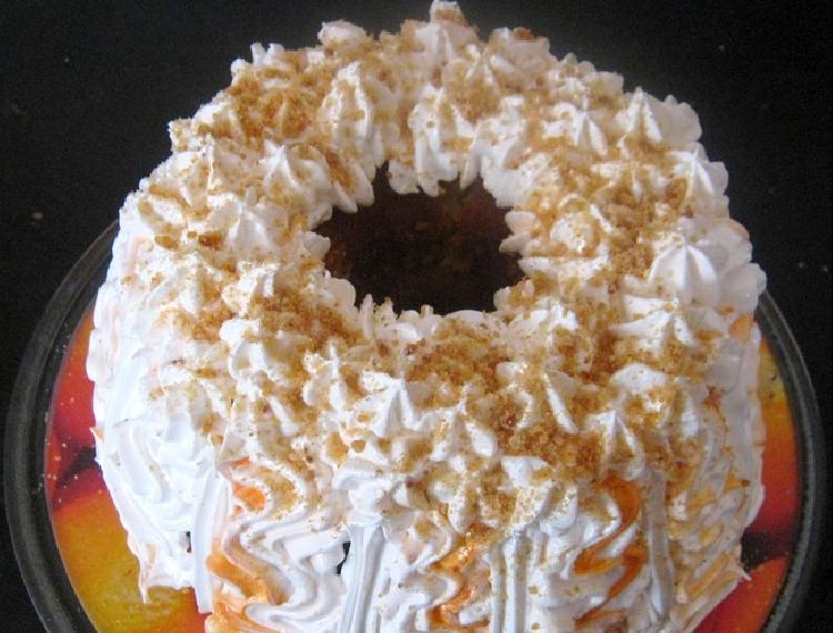 torta de mandarina sin gluten