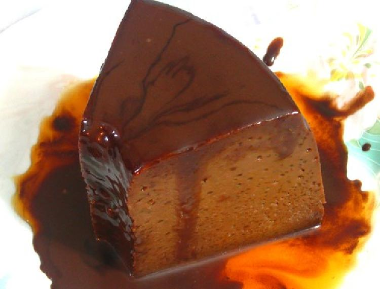 flan de chocolate receta