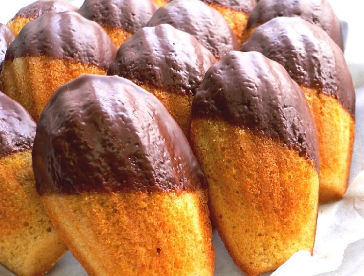 magdalenas con chocolate