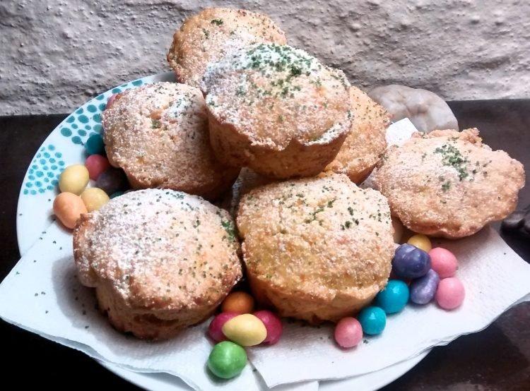 cupcakes de zanahoria y coco