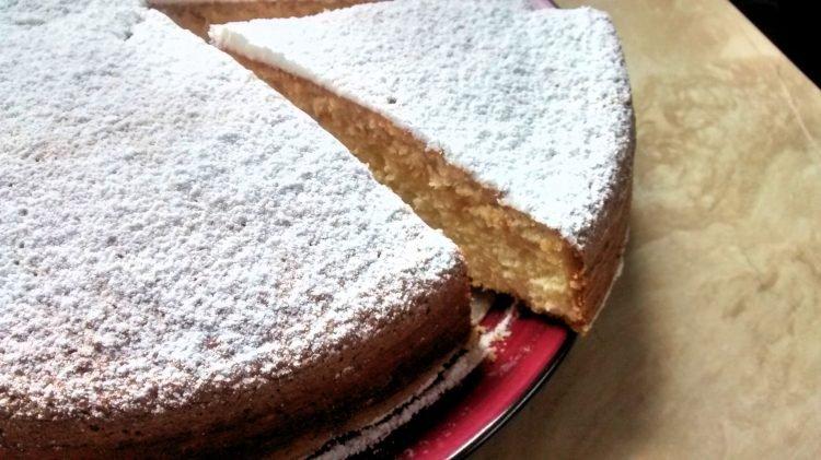 torta liviana merengue coco